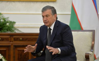 Mirziyoyev Keeping Up the Good Neighbor Act
