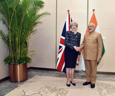 British PM Theresa May Visits India: What's On the Agenda