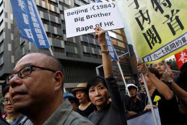 China Bars Pro-Independence Legislators in Hong Kong