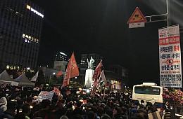 South Korea: People Power Backs Left Into a Corner