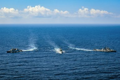 India, Singapore Launch Naval Exercise