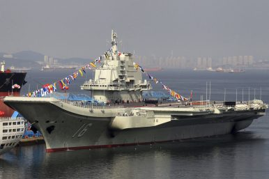 Next Stop South China Sea? China's 1st Aircraft Carrier 'Ready for Combat'