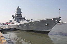 India Commissions New Stealth Warship
