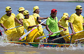 Cambodia's Dragon Boat Races