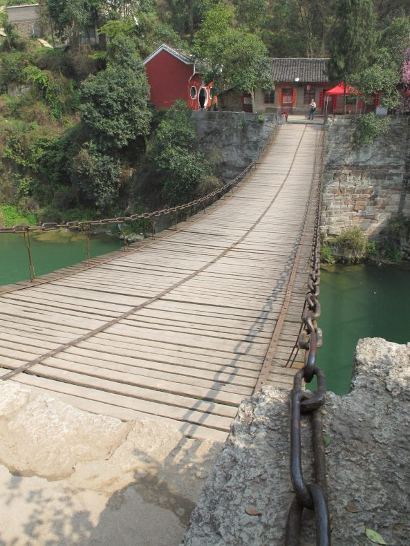 The Zhou Dawu bridge in Chong'an, designed by Mesney. Image courtesy of David Leffman.
