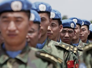 China Takes the Lead in UN Peacekeeping