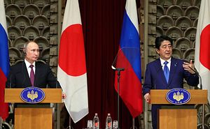 The Details of Abe's Proposed Peace Treaty With Russia