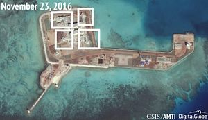 New Weapons on China's Artificial Islands Don't Violate 'Non-Militarization' of South China Sea