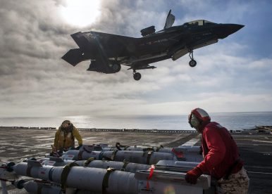 F-35B Completes Weapons Load Testing on US Navy Amphibious Assault Ship
