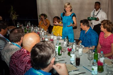 Australian Foreign Minister Island Hops Around the South Pacific
