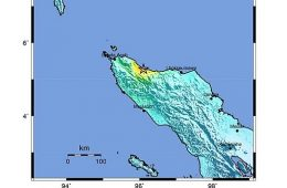 102 Killed in Aceh Quake, Mercifully No Tsunami