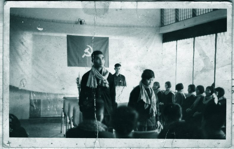 3.One of the mass weddings held in Cambodia. Photo from the archives of the Documentation Center of Cambodia (DC-Cam)