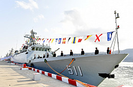 2 New Warships Commissioned Into PLAN's East China Sea Fleet