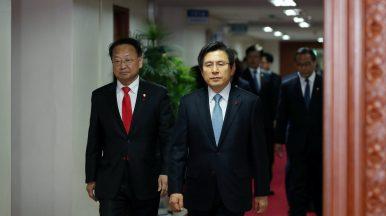 A Tough Task for South Korea's Interim Government