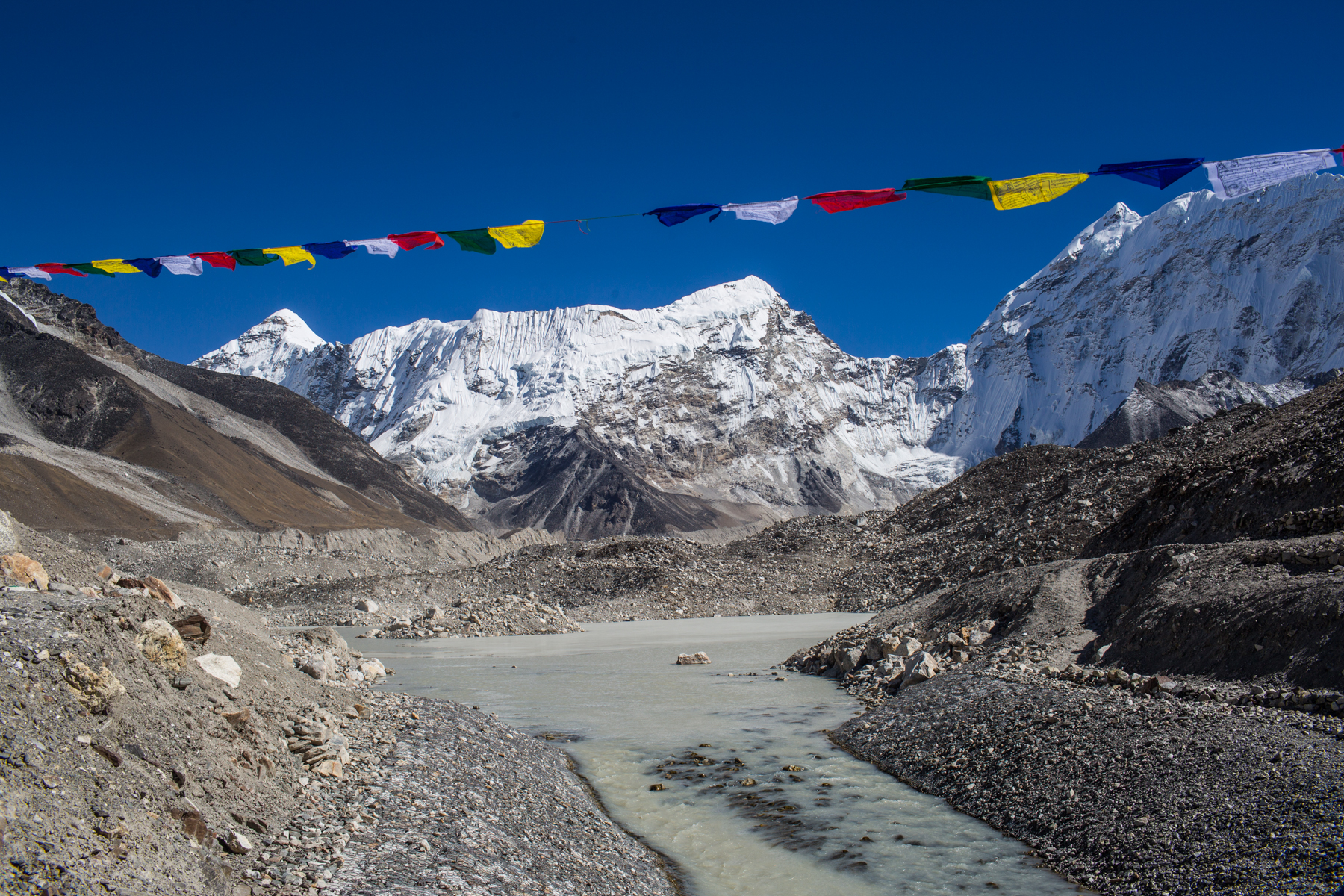 Draining a Glacial Lake in Nepal