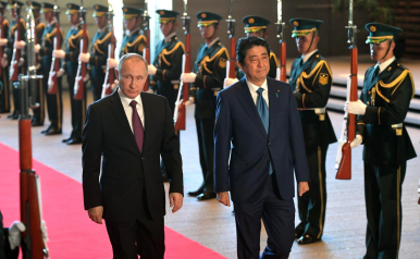 No Peace Deal for Russia and Japan, But Slow Progress