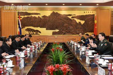 China, Thailand Mull Joint Military Production Facility
