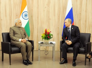 The Geopolitics of India and Russia's Disparate Interests