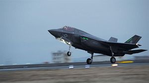 US Deploys 1st F-35B Squadron to Japan