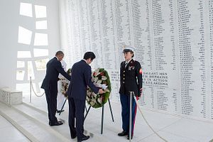 From 'Infamy' to 'Reconciliation' – Prime Minister Abe's Visit to Pearl Harbor