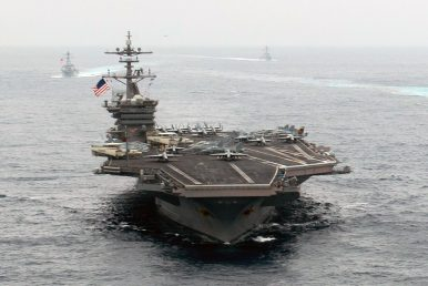 Will China's Aircraft Carrier Cross Paths With New US Carrier Strike Group in Western Pacific?