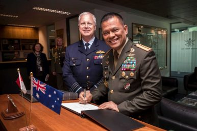 Rocky Australia-Indonesia Military Ties Restored After Jokowi Visit