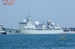 Chinese Navy Commissions Fifth Improved <em>Dongdiao</em>-class Spy Ship