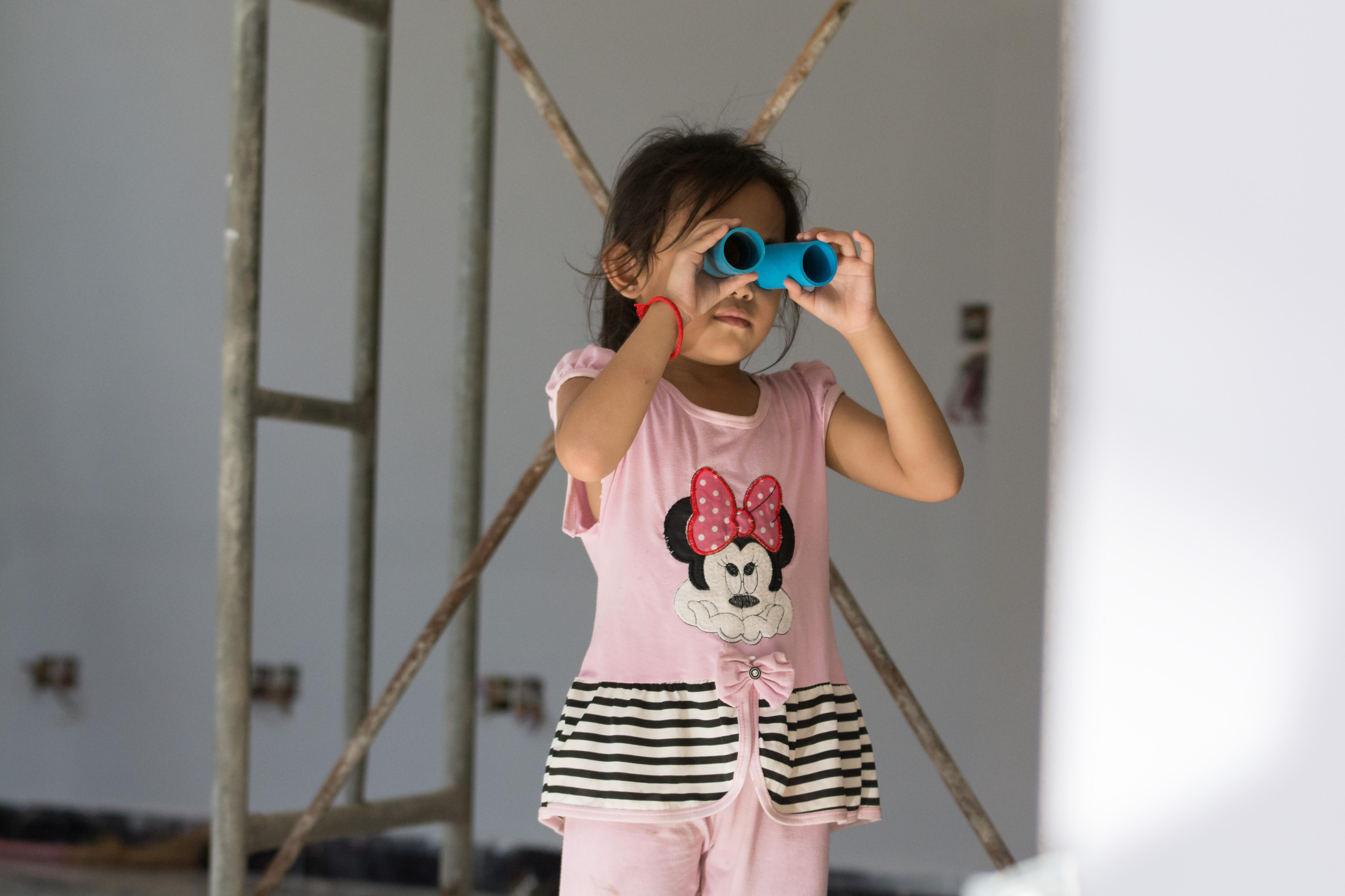 The World of Cambodia's Construction Site Children