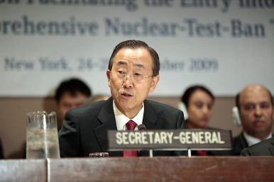 Ban Ki-moon Won't Run for South Korean President After All