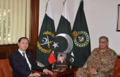 Chinese Envoy, Pakistani Army Chief Discuss CPEC Security