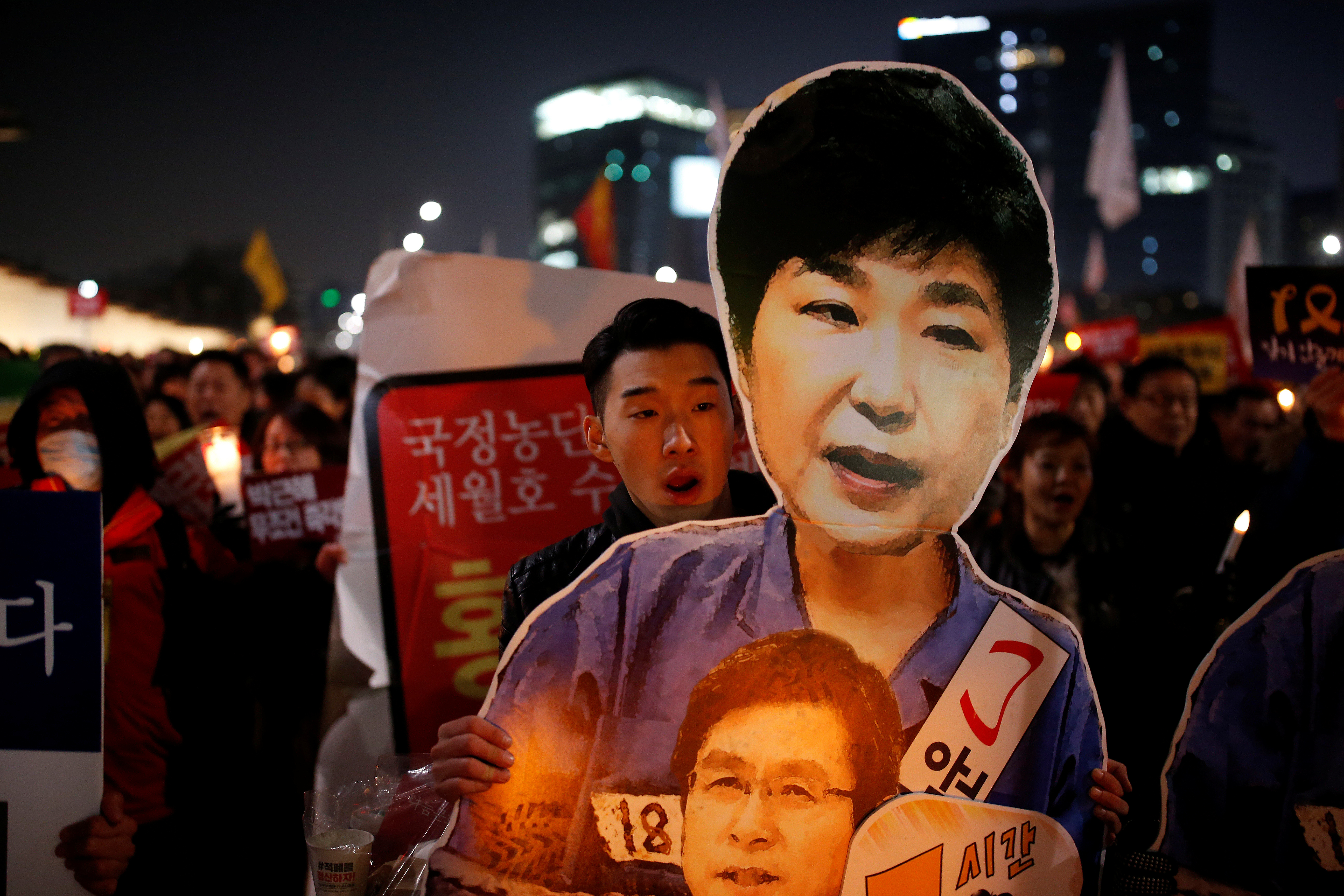 The History Of A Scandal How South Korea S President Was