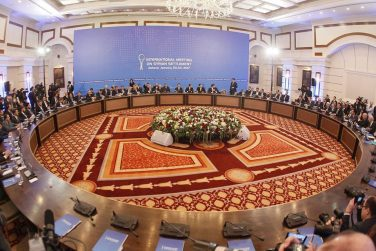 Syrian Sides Snub Final Document at Astana Peace Talks