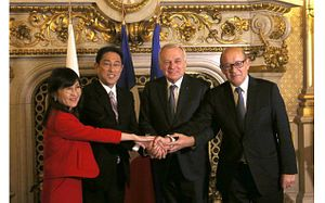 Japan and France: Slowly but Surely Moving Forward on Security Cooperation
