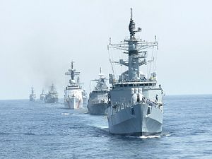 Pakistan Kicks off Large Multinational Naval Exercise
