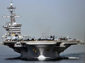 US Carrier Strike Group Arrives in the South China Sea