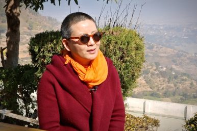 Meet Nepal's Buddhist 'Rock Star Nun'