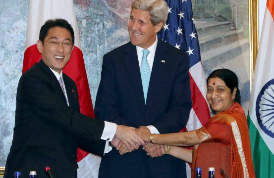 The Us India Japan Trilateral Economic Foundation For A Grand