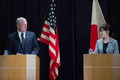 Mattis: Senkakus Covered Under US-Japan Security Treaty