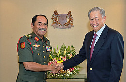Malaysia's New Army Chief Makes First Singapore Visit