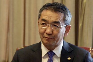 A Conversation With Mongolia's Foreign Minister Tsend Munkh-Orgil