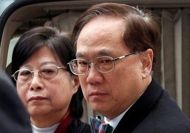 Former Hong Kong Chief Executive Sentenced to Jail