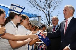 Israeli Prime Minister Benjamin Netanyahu Finishes 4-Day Visit to Australia