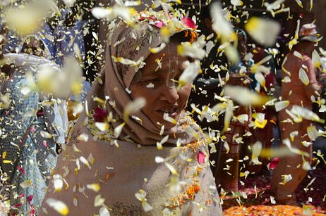 Bringing Color to the Widows of Vrindavan