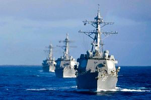 US and Japan Hold Naval Drill Off Guam