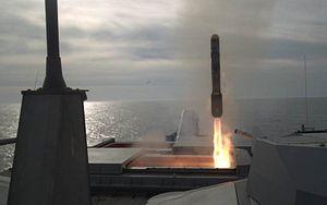 US Navy Littoral Combat Ship Test Fires Missile