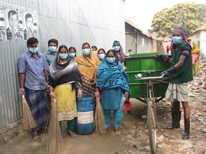 Cleaning up Bangladesh's Slums