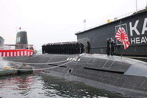 Japan Launches First Lithium-Ion Equipped Soryu-class Submarine