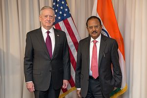 Mattis Hosts Indian National Security Adviser in Washington