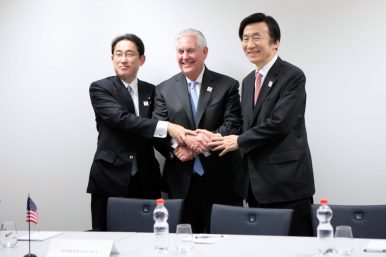 Rex Tillerson May Be Heading to China, South Korea, and Japan Soon