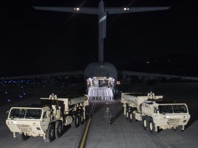 US Starts Deploying THAAD Anti-Missile Defense System in South Korea